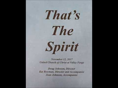 That's the Spirit Joint Concert Nov 12, 2017