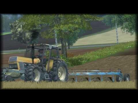 Farming Simulator . Nelamanowice V3. Oranie i bronowanie na ekranie !