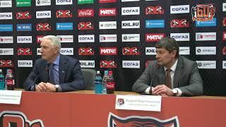 07.03.2018 / Amur - Ak Bars / Press Conference