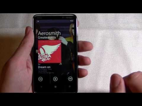 T-Mobile HTC HD7 Review: Part Four (Zune Music and Videos, Maps)