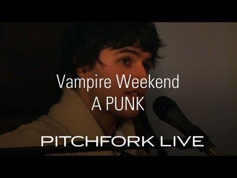 Vampire Weekend - A-Punk - Pitchfork Live