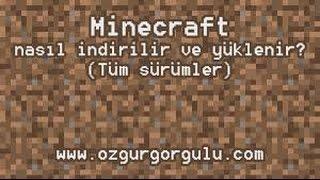 MİNECRAFT NASIL İNDİRİLİR (FULL SÜRÜM)