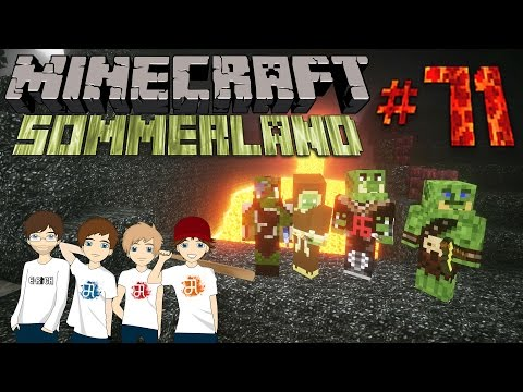 MINECRAFT Sommerland #71 - 4 Jungs unter Tage [HD] | Let's Play Minecraft