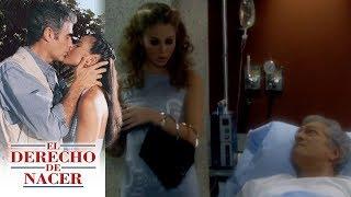 El derecho de nacer - C-41: ¡El amorio de Leonor y Rafael queda al descubierto! | Televisa