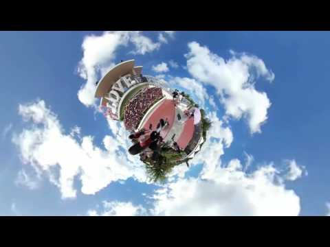 Tiny Planet Guam - Puntan Dos Amantes (Two Lover's Point)