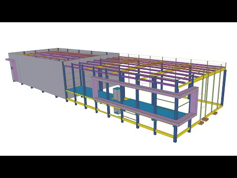 Tekla BIM Awards France 2020 : KP1 -  SCI Larrieu Altissimo