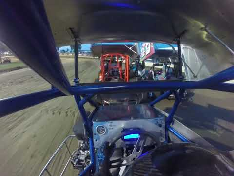 11 year old Ethan Ayars Micro Sprint Sweet Springs Heat Race 7th to 4th