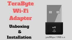 TERABYTE WiFi ADAPTER | 500Mbps | 802.11n - Unboxing and Installation