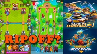 """IS THIS REALLY A Clash Royale RIP-OFF GAME?? """"Smite Rivals"""" The New Clash Royale!!"""