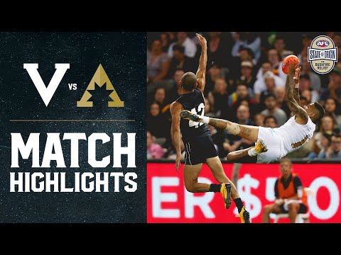 Victoria V All-Stars Highlights | State Of Origin For Bushfire Relief | 2020 | AFL