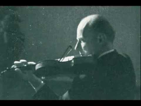 Georg Kulenkampff - Schumann Violin Concerto d-moll