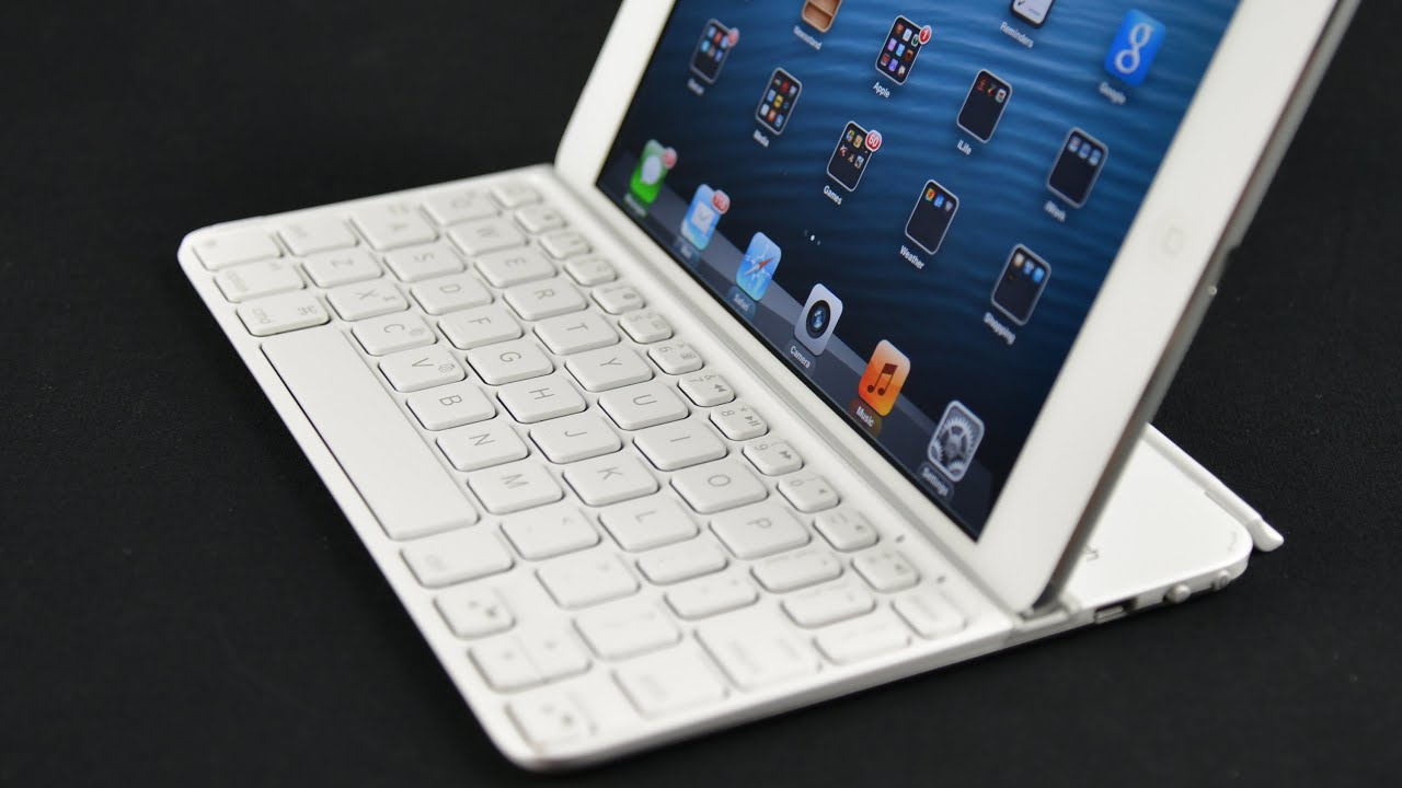 Brand New Logitech Ultrathin Bluetooth Wireless Keyboard Cover For iPad Mini