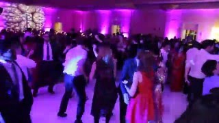 DBI -DJ Impact and Dholi JupMasterG performing at an Indian Wedding reception - Feb 2014