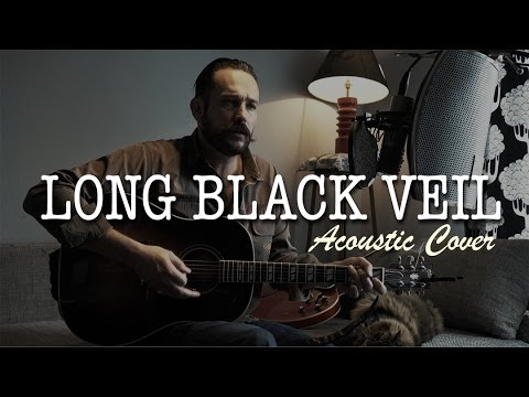 Long Black Veil Acoustic Cover (Johnny CASH) - YouTube