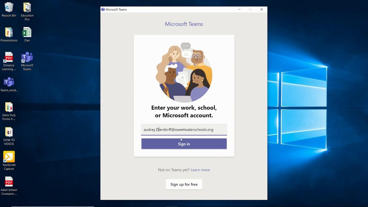 teams desktop download