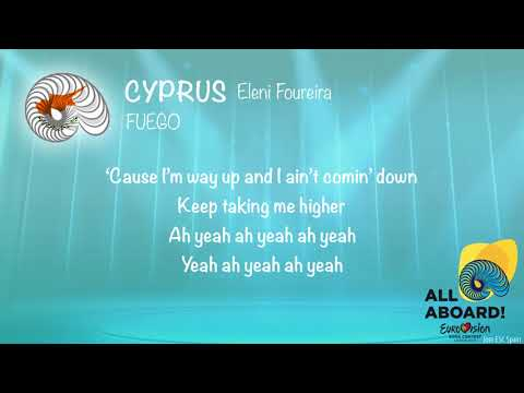 Eleni Foureira - Fuego (Cyprus) [Karaoke Version]