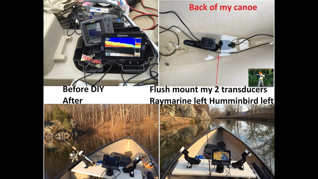 maxresdefault humminbird 200dx on a canoe vs raymarine dragonfly 7 part 2 of humminbird 200dx wiring diagram at fashall.co