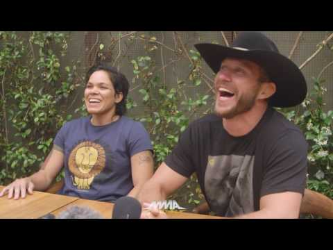 UFC 213: Amanda Nunes, Donald Cerrone Media Lunch - MMA Fighting
