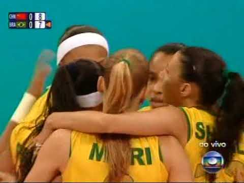 Beijing 2008 Semifinal 21 08 08   Brasil x China