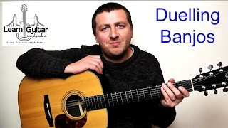 Duelling Banjos - Guitar Tutorial - Deliverance