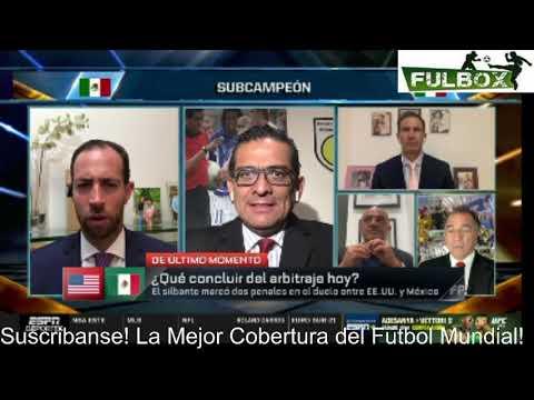 POLÉMICA México fue ROBADO por Arbitraje vs Estados Unidos NO era penal NUNCA- Fútbol Picante