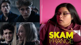 SKAM France 6x01 REACTION yes i just watched it