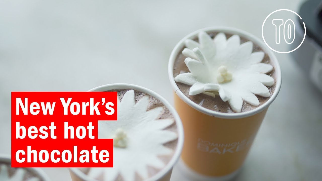 The Best Hot Chocolate in NYC - YouTube
