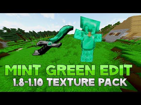 AciDic BliTzz MINT GREEN EDIT Texture Pack (1.8/1.9/1.10 Resource Pack)