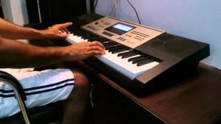 Manasuna Edho Ragam song on keyboard