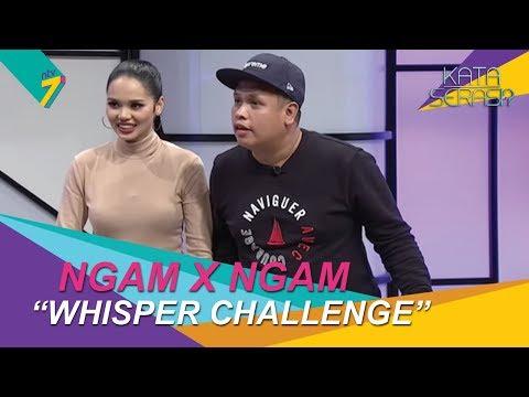 Ngam x Ngam | Siapakah juara pemain Whispers Challenge dalam Kata Serasi? | Kata Serasi?