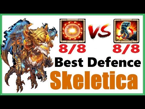 SKELETICA - Best Defensive Talent: Scorch Vs Stone Skin