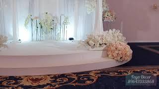 Оформление Чеченской свадьбы!Москва. Банкетный зал Triumph эвент холл