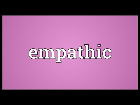 Empathic Meaning