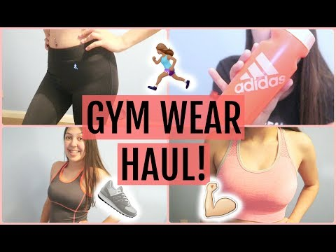 TRY-ON GYM WEAR HAUL! | Amy Wragg