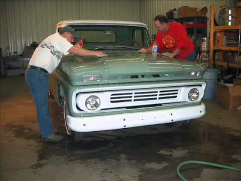 Gmc Truck For Sale >> 1962 Chevy Truck Restoration 2008 - YouTube
