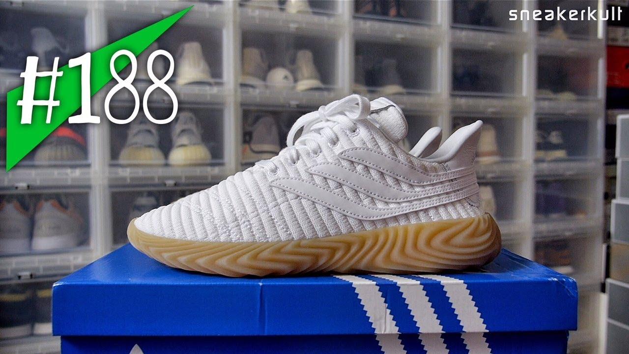 188 - Adidas SOBAKOV White Gum - Review