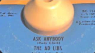 The Ad Libs - Ask Anybody