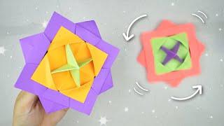 Juguete Giratorio de Origami - Origami Spinner Toy