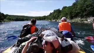 Камчатка  Река Быстрая  Пороги