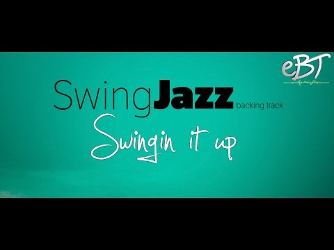 Swing Jazz Backing Track in C Major | 140bpm