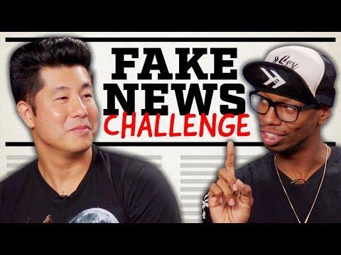 FAKE NEWS CHALLENGE w/ JK NEWS!!
