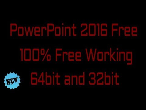 how to download powerpoint 2016 free 100 free no password