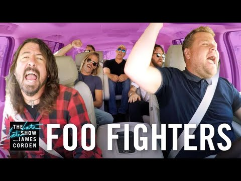 Foo Fighters 'Carpool Karaoke' is here and it's 13 minutes of total epicness