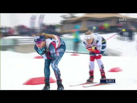 30km masstart damer Holmenkollen 2018