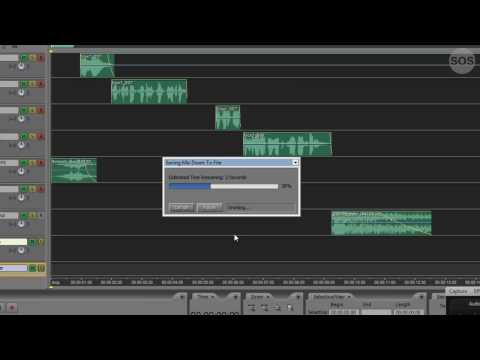 Adobe Audition Tutorial 11 - The Final Mixdown