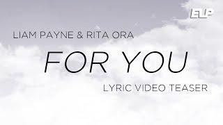 Liam Payne & Rita Ora - For You (Lyric Video Teaser) | Fifty Shades Freed