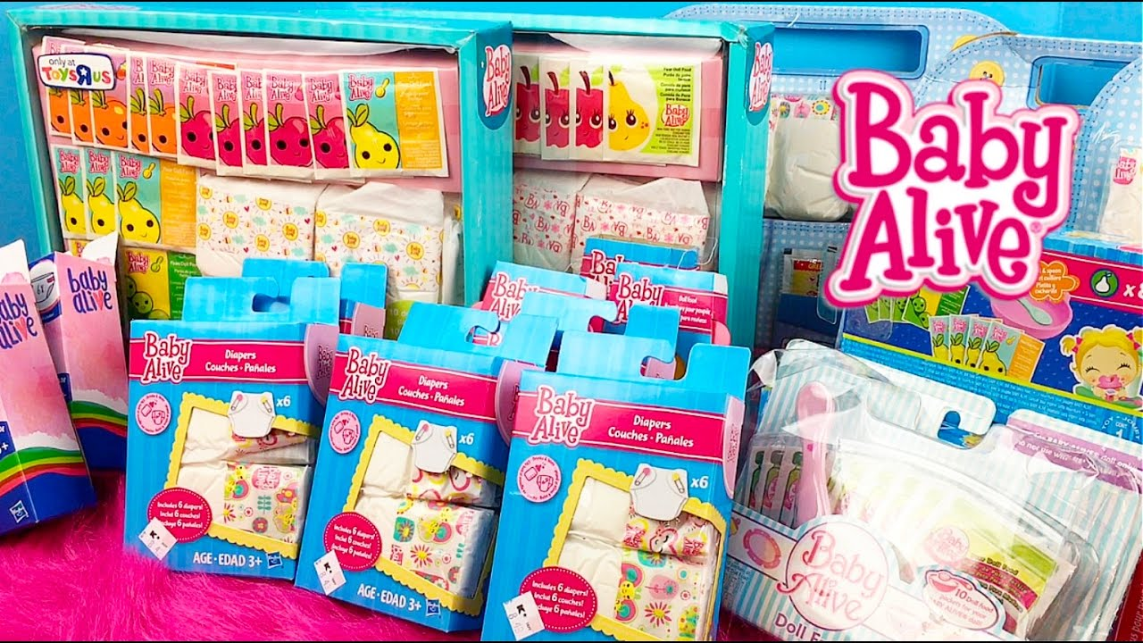 Baby Alive Doll Collection Series Part 2 My Refill Packs