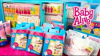 Baby Alive Doll Collection Series Part 2 -- My Refill Packs