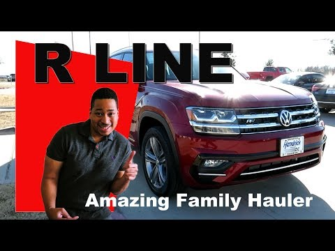 VW ATLAS R Line Review - Huge three row suv