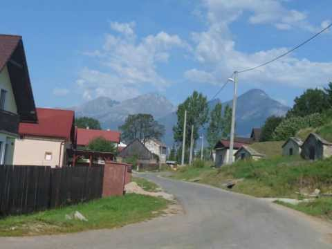 beautiful national park High Tatras in Slovakia.wmv